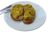 Vegan scrambled tofu