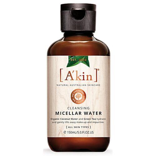 cleansing vegan micellar water