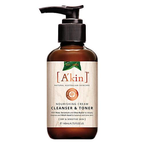 vegan cleanser and toner