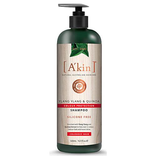 ylang ylang and quinoa vegan shampoo